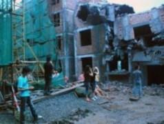"""Công trình """"bã đậu"""" tái xuất hiện tại vùng động đất"""