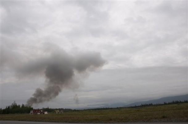 Mỹ: Máy bay lao xuống căn cứ quân sự, 4 người chết