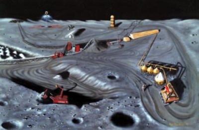Đưa điện hạt nhân lên Mặt trăng