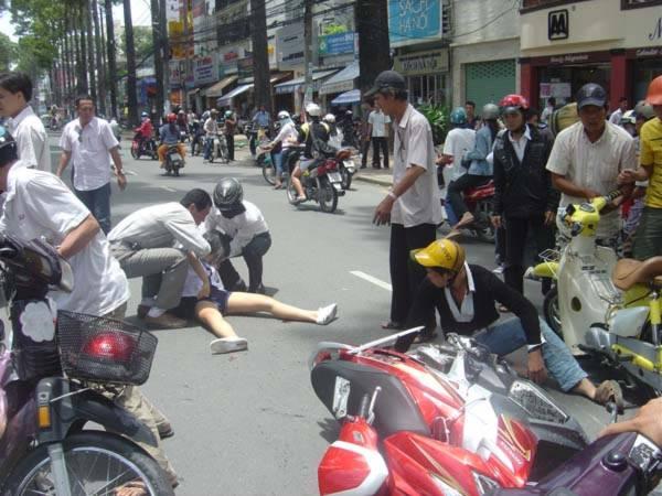 Những nghĩa cử cao đẹp trong một vụ tai nạn