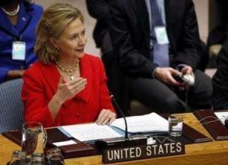 Ngoại trưởng Hillary Clinton.