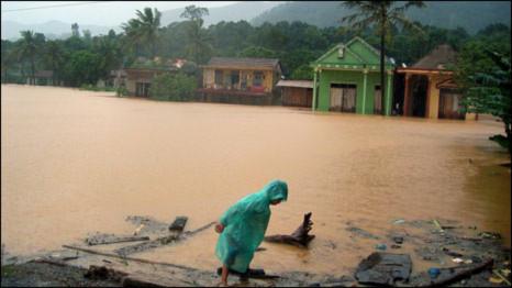 Ngoại trưởng Mỹ chia buồn với nạn nhân lũ lụt Việt Nam