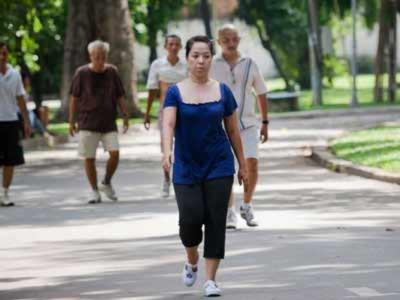 Tập thể dục thời ô nhiễm