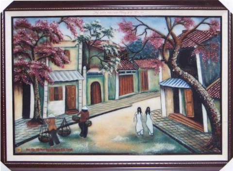 Tranh của Kiều Khanh bán được giá kỷ lục