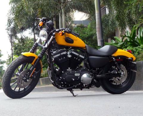 Harley Davidson Sportster 883 phiên bản 2011 ở Sài Gòn