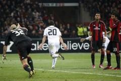Inzaghi lập cú đúp, Real suýt ôm hận trước Milan