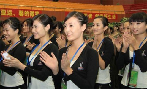 Mỹ nhân Trung Quốc tại ASIAD 16