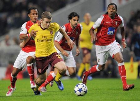 Thua Braga, Arsenal trước nguy cơ bị loại ở Champions League