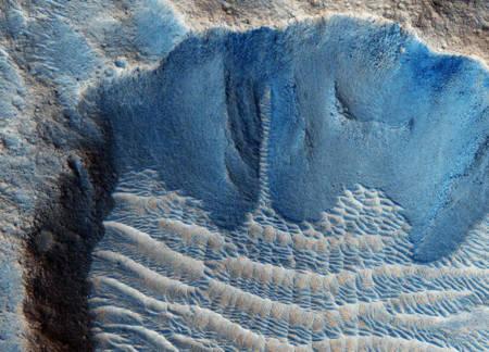 Nước có thể tồn tại ngay dưới bề mặt sao Hỏa