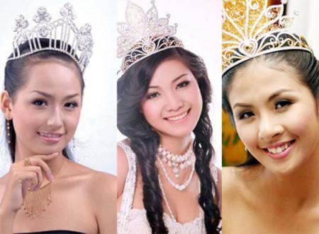 Tình bạn thân của bộ ba hoa hậu