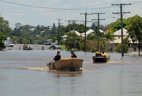 Lũ lụt kinh hoàng ở Australia