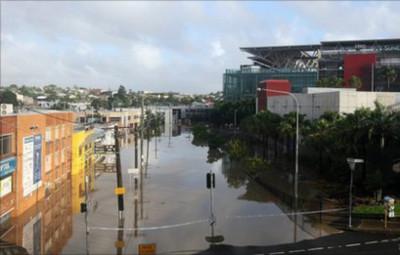 Lũ tấn công thành phố lớn thứ 3 của Australia