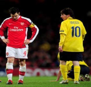 Arsenal và ba bài học khi đối đầu Barca
