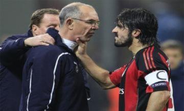 Gattuso bóp cổ và húc đầu trợ lý HLV Tottenham