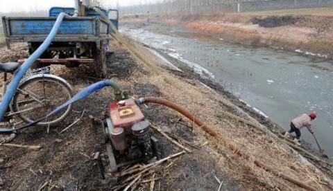 Đông Trung Quốc chịu hạn hán tồi tệ chưa từng có
