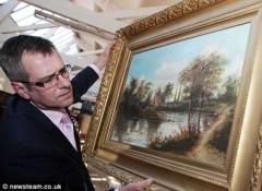 Mua bức họa 100 bảng, bán giá 40 triệu bảng