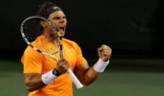 Nadal chật vật vào bán kết BNP Paribas mở rộng