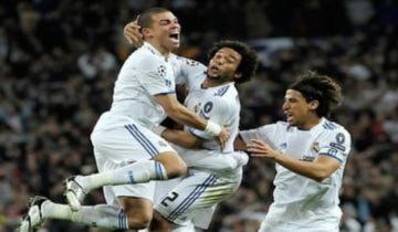 Real vào tứ kết bằng trận đại thắng Lyon