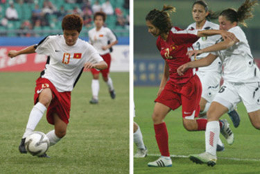 Tuyển nữ kết thúc Vòng Loại Olympic với ngôi đầu