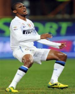 Eto'o đem tin xấu tới cho Inter