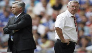 5 cuộc đấu trí đáng nhớ của Ferguson và Ancelotti
