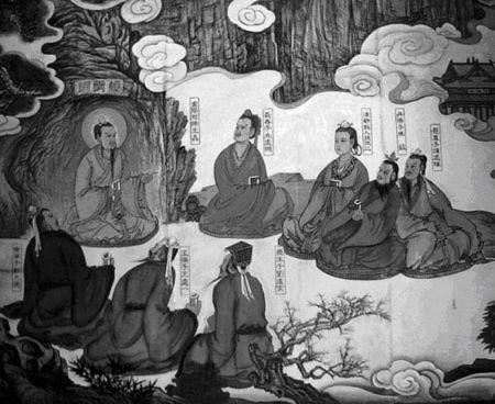 Đạo gia tu luyện cố sự: Đàm Xứ Đoan đứng giữa tuyết cầu kiến Vương Trùng Dương