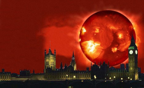 Bí ẩn ngày tận thế: Hiểm họa từ Mặt trời