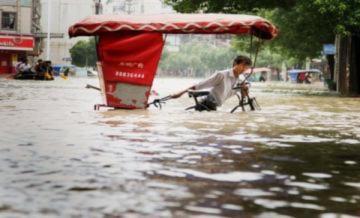175 người chết vì lũ lụt Trung Quốc