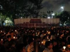 Dân Hồng Kông tham gia đêm canh thức cho Thiên An Môn