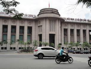 Trụ sở Ngân hàng Nhà nước Việt Nam, Hà Nội RFA photo