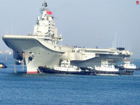 """Tàu sân bay Liêu Ninh sẽ trở thành """"mẫu hạm"""" trong hạm đội hải quân thứ tư của Trung Quốc?"""