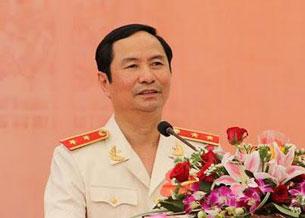 Thượng tướng Phạm Quý Ngọ, ảnh chụp trước đây. Courtesy chinhphu.vn