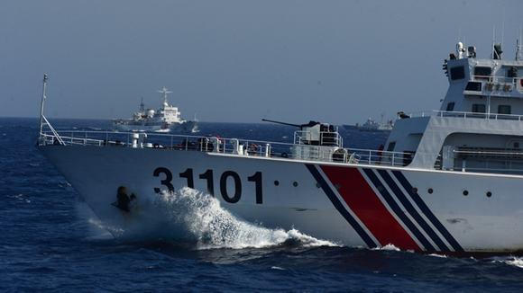 Tàu Trung Quốc luôn sẵn sàng lao vào ngăn cản lực lượng tàu của Việt Nam vào thực thi nhiệm vụ tại khu vực giàn khoan Hải Dương 981 trái phép