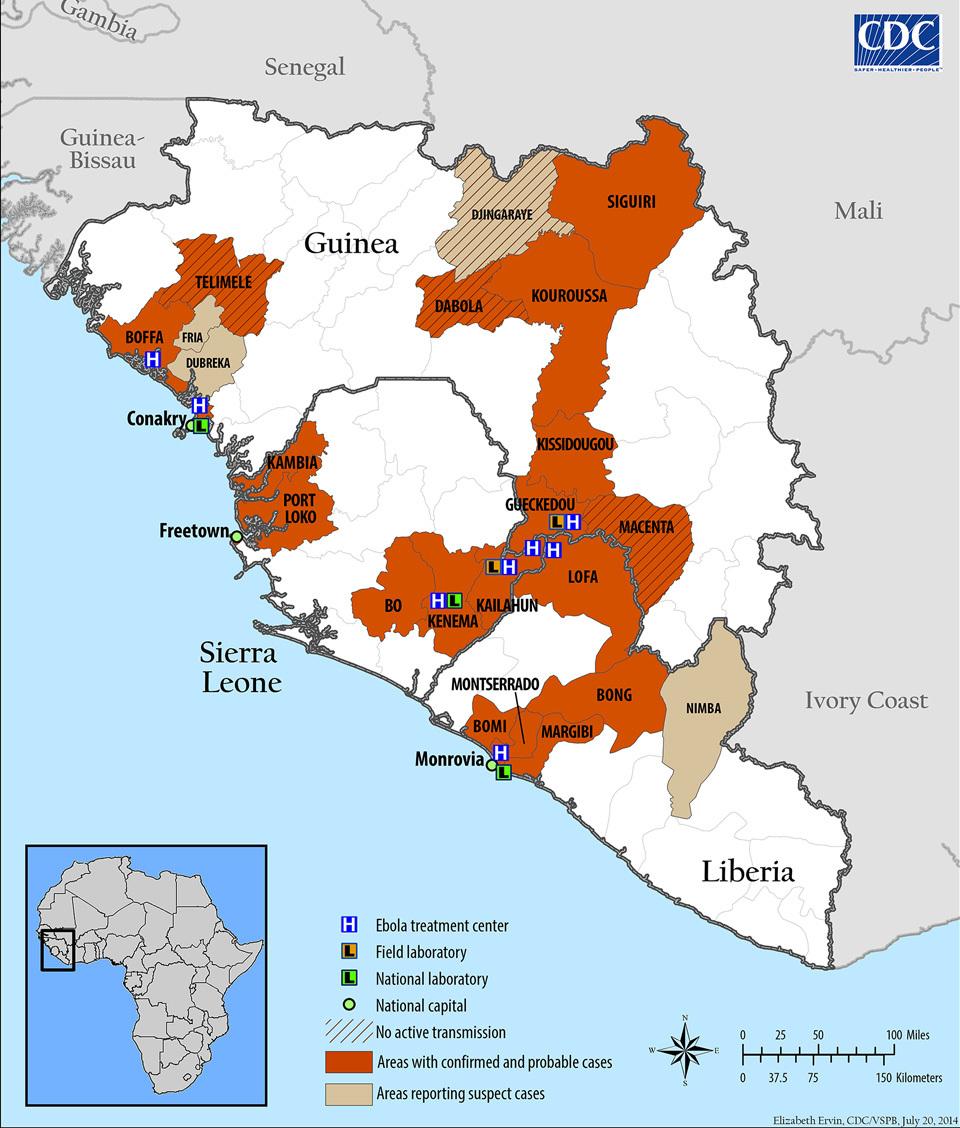 ban do ebola