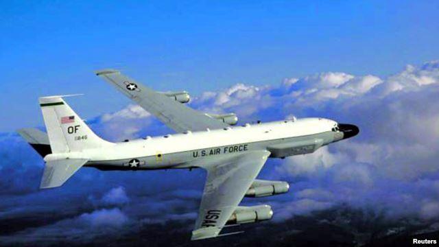 Máy bay trinh sát RC-135 của Không quân Mỹ.