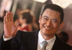Actor Chow Yun-fat of Hong Kong poses on