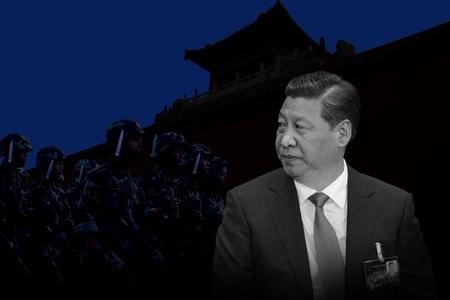 """Ngày 20 tháng 10, phiên họp toàn thể lần thứ 4 Ban chấp hành trung ương Đảng Cộng sản Trung Quốc( khóa 18), phe cánh Tâp Cận Bình và phe phái Giang Trạch Dân đứng trước việc chơi bài ngửa trong các vấn đề như vụ án Chu Vĩnh Khang, phong trào """"chiếm trung"""" ở Hong Kong, và cải cách tư pháp. (Ảnh: Báo Đại Kỷ Nguyên)"""