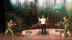 Một cảnh trong vở 'Lời thề thứ chín' của tác giả Lưu Quang Vũ