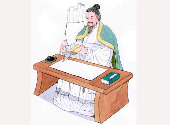 Tư Mã Thiên, tác giả của bộ sử ký đầy đủ đầu tiên về Trung Hoa, cho rằng một sử gia cần có sự độc lập, khách quan và phải giải thích được thấu đáo về các sự kiện lịch sử. (Ảnh: Blue Hsaio/ Epoch Times)