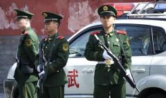 13 người đã bị bắt giữ sau khi hàng trăm dân làng tấn công một đồn công an ở tỉnh Hồ Nam, Trung Quốc. (Ảnh minh họa)