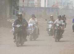 Sức khỏe người dân ảnh hưởng do chất lượng không khí ở Việt Nam không đảm bảo. Ảnh: Lê Hiếu.
