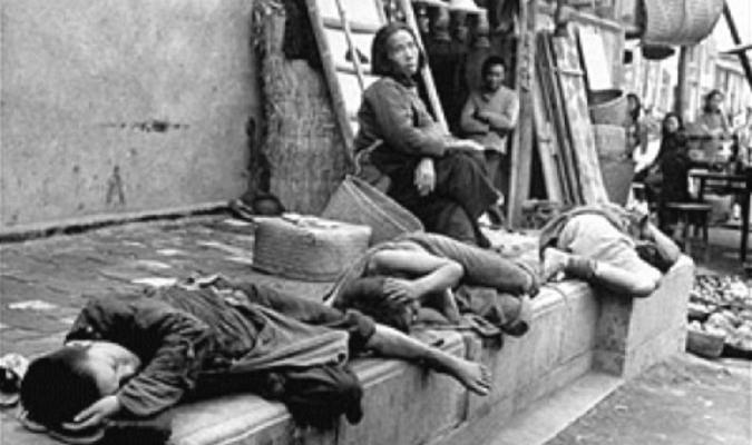 nạn đói lớn, Mao Trạch Đông,