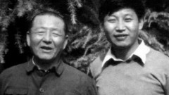 Tập Cận Bình và người cha từng trải qua những khổ sở của thời Cách mạng Văn hóa. (Ảnh: smh.com.au)