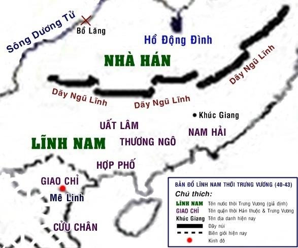 Bản đồ Lĩnh Nam