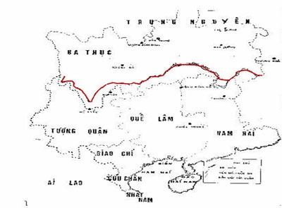 bản đồ nước Việt xưa