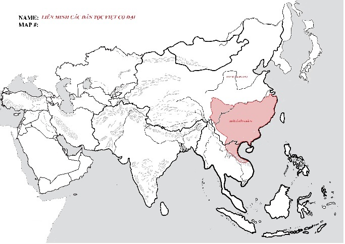 bản đồ Xích Qủy
