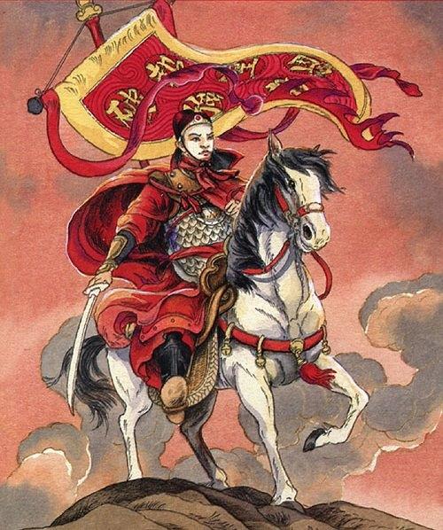 """(Ảnh bìa sách """"Lá cờ thêu sáu chữ vàng"""" của NXB Kim Đồng)"""