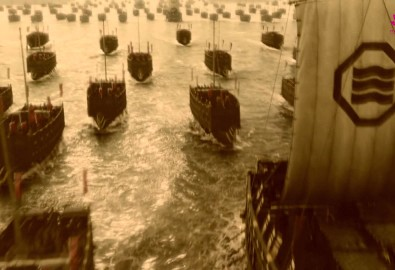Thủy binh Đại Việt. Ảnh lấy từ youtube