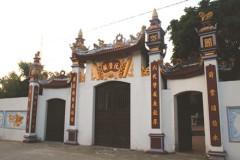 Đền thờ Lưỡng quốc trạng nguyên Nguyễn Đăng Đạo tại làng Bịu (xã Liên Bão, huyện Tiên Du). (Ảnh từ I.T).