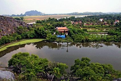 Vùng đất Yên Định, nơi Khương Công Phụ được sinh ra. Ảnh Thanhhoa.gov.vn